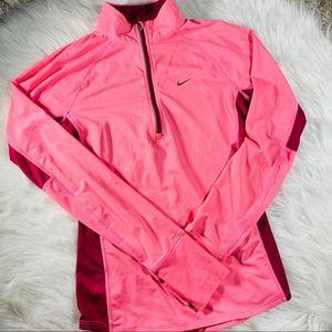 Nike Pink Dri Fit Track Jacket